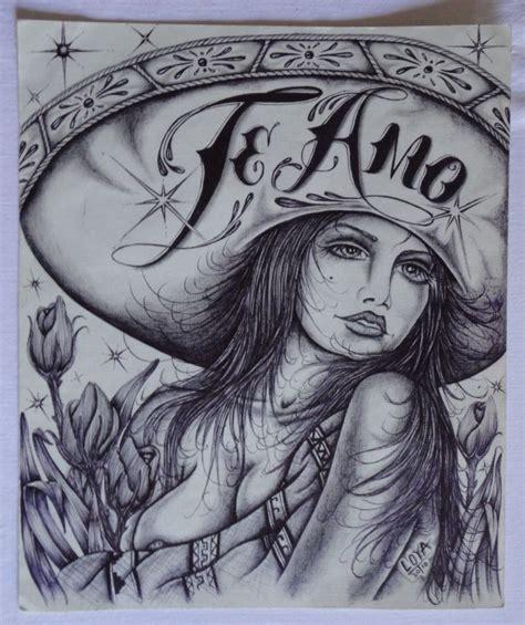 te amo tattoo designs te amo charra lowrider chicano