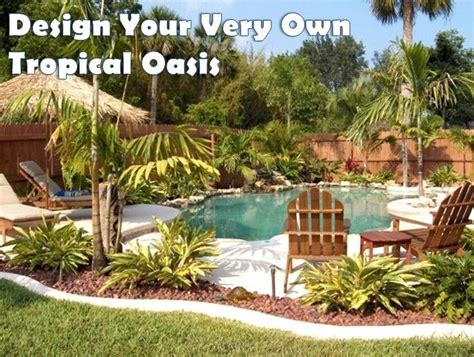 33 best tropical outdoor oasis images on
