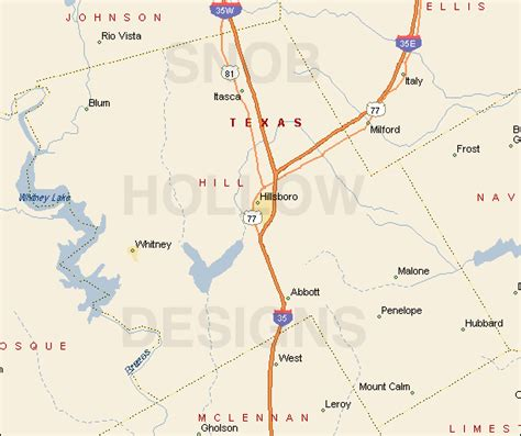 map of hill county texas hill county texas color map