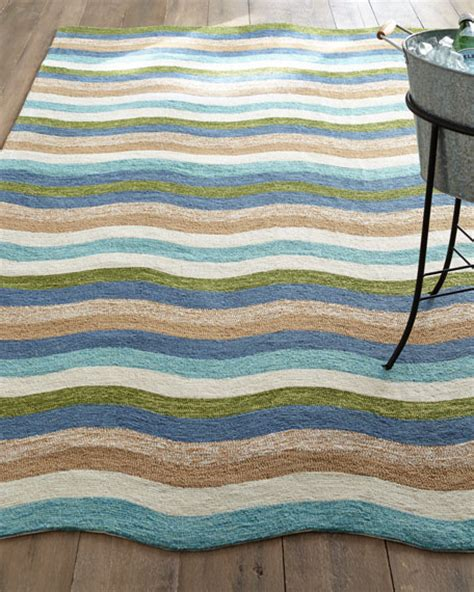 Horchow Outdoor Rugs by Caribbean Waves Indoor Outdoor Rug