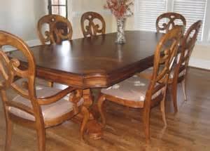 Thomasville Furniture Dining Room Thomasville Furniture Rivage Dining Room Set Table 6 Chairs China Cabinet Ebay