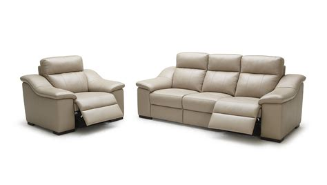 Beige Leather Sofas Saffron Modern Beige Leather Sofa Set