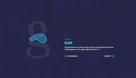 typography ear ear typography olybop