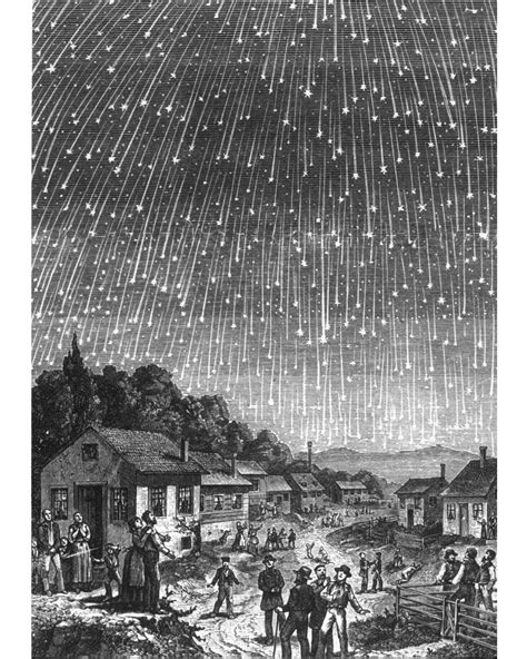 1833 Meteor Shower 1833 meteor started citizen science national