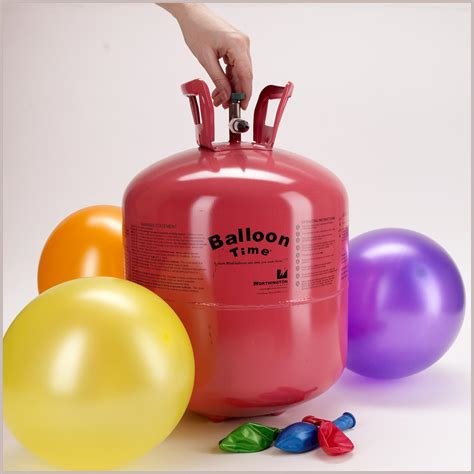 Partybell com disposable helium tank