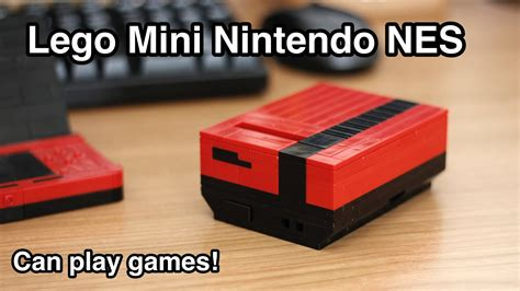 112 nintendo nes mini vs working lego mini nintendo nes powered by raspberry pi raspberry pi piday raspberrypi