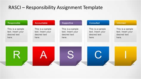 Rasci Model Powerpoint Template Slidemodel Matrix Powerpoint Template