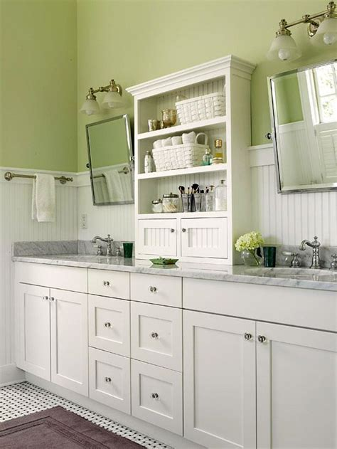 bathroom colors with white cabinets 38 best green bathrooms images on pinterest bathroom