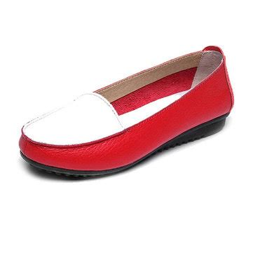 Flat Shoes Anti Licinalas Karet 1 fashion autumn flats slip on soft sole shoes anti skid loafers us 20 39