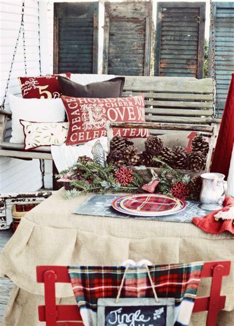 35 cozy plaid d 233 cor ideas for christmas digsdigs