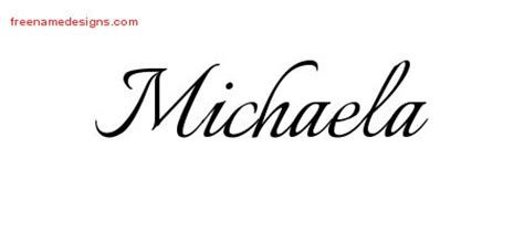 design tattoo names online free calligraphic name designs michaela free
