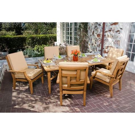 teak patio furniture costco home outdoor