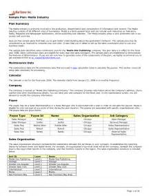 Sle Of Essay Outline by Sales Plan Template E Commercewordpress