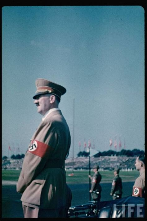 biografi adolf hitler jerman nazi germany color photos from life archive