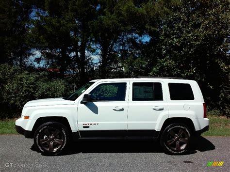 patriot jeep white 2017 bright white jeep patriot 75th anniversary edition