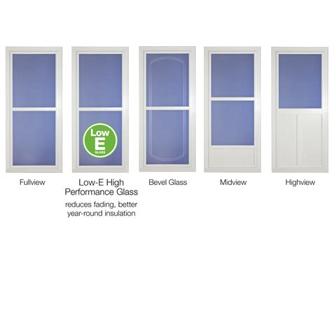 exterior door with window and screen door buying guide