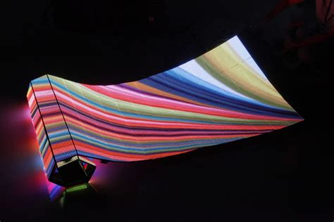 flexible led video curtain led screen hire led curtain screens led panels indoor