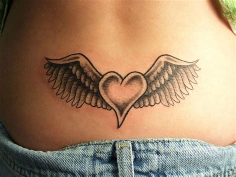 lower back wing tattoo designs lower back wings 13