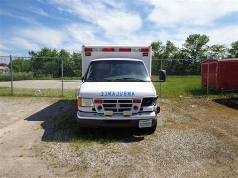 how to fix cars 2003 ford e series user handbook sell used 2003 ford e 350 ambulance for parts or repair in sedalia missouri united states for