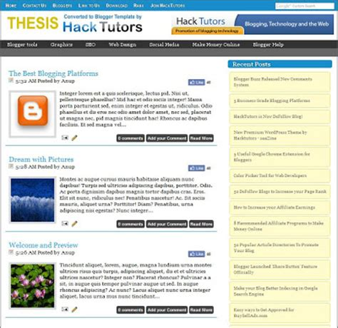 hacking templates for blogger top 3 wordpress converted free blogger templates hack