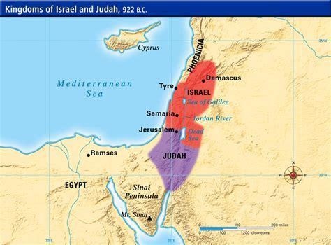 ancient middle east map judah kingdom israel judah map