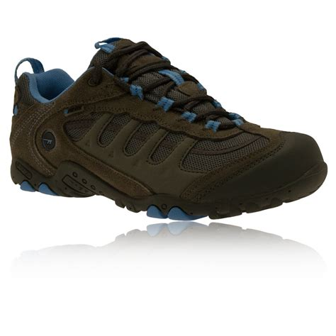 sports walking shoes hi tec penrith low waterproof s trail walking shoes