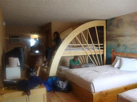 theme park beds bunk beds at posedions village picture of mt olympus