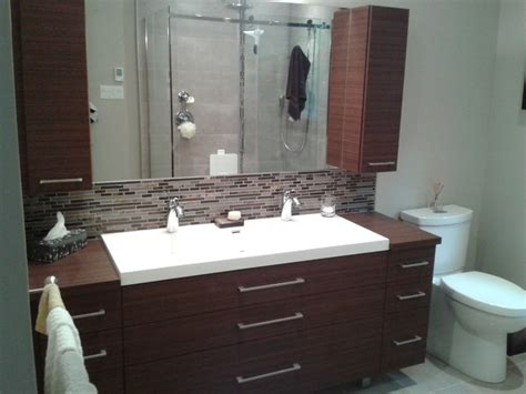 bathroom mirrors ottawa modern vanity modern bathroom ottawa by les