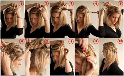 hair braided on the top but cut close on the side 10 awesome hairstyles for lazy girls