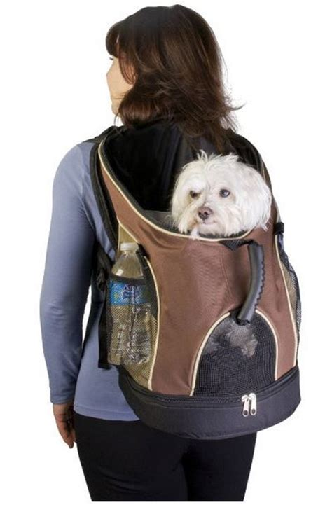carrying puppy carrier backpack breeds picture