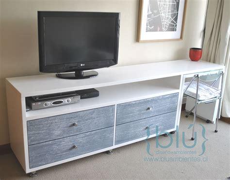 mueble tv  cajones  mesa  ruedas proyectos
