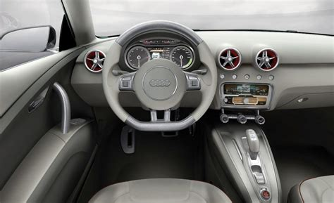 Audi A1 Interior by Car And Driver