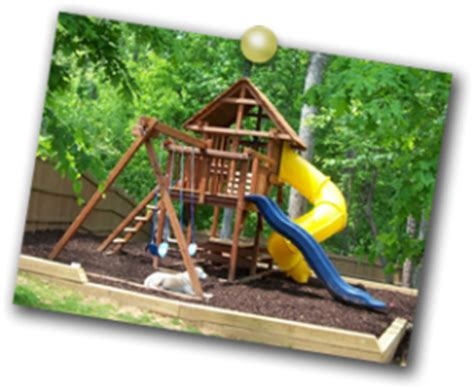 high end swing sets backyard playsets can actually help your home s resale value