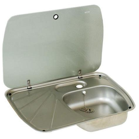 Caravan Awnings Second Hand Dometic Sink Amp Drainer With Glass Lid