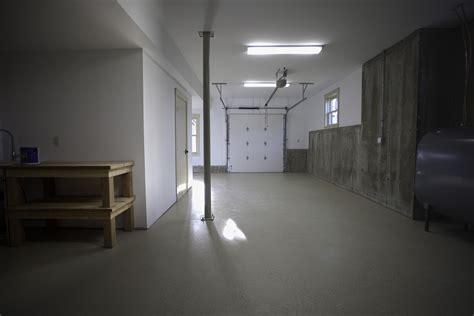 coyle modular homes workshop and basement garage bay