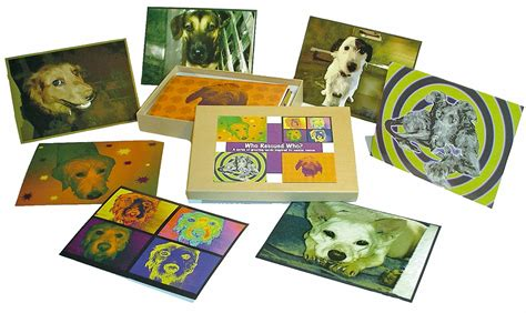 Gift Card Rescue Complaints - dog rescue cards canine recycled greeting cards