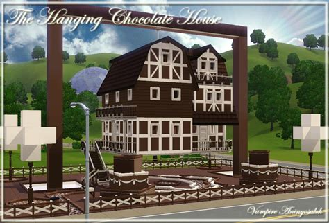 Chocolate House by Mod The Sims The Hanging Chocolate House No Cc