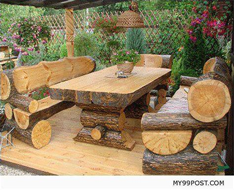 gorgeously rustic log tables youll    cabin  grid world