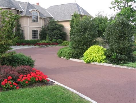 Wonderful Home Depot Garden Plants #5: Colorful-driveway-landscaping.jpg