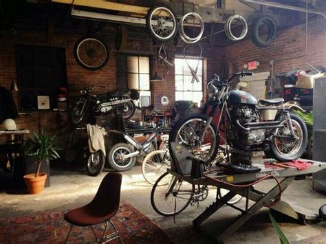 motorcycle workshop layout ideas motorcycle garage motorcycle garage pinterest