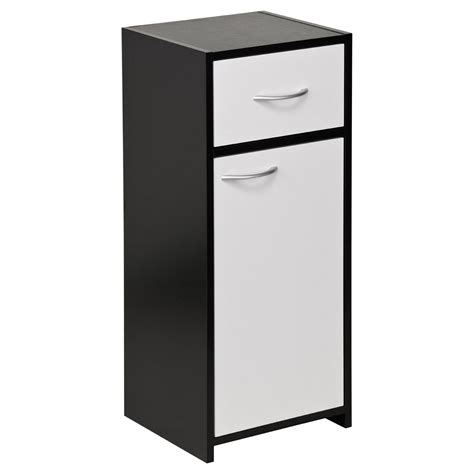 Metal Bathroom Storage New Black White Bathroom Furniture Floorstanding Sink Wall Cabinet Ebay