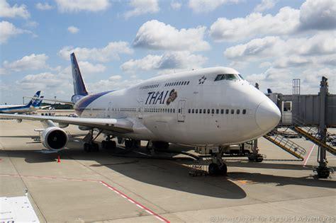 Thai Boeing 747 Passenger Airplane Alloy Plane Aircraft Metal Diecast review thai airways 747 business class hong kong to bangkok
