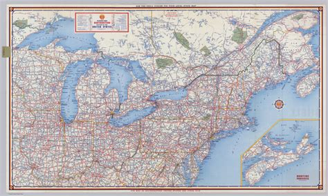 map of the northeast usa northeast canada map