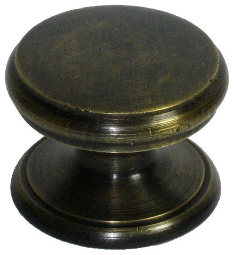 flat knob traditional cabinet and drawer knobs