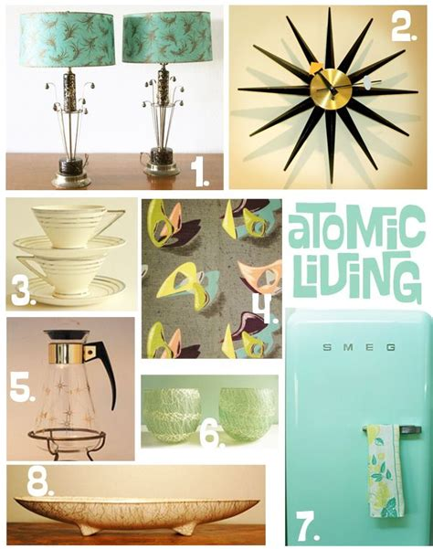 1000 ideas about atomic decor on mid century