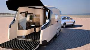 luxury caravans caravisio caravan features cinema touch screen shower and