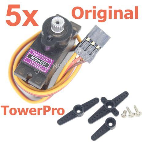 Limited Towerpro Tower Pro Mg90s Mg90s Motor 5pcs Towerpro Mg90d Digital 9g Servo Motor Micro Metal