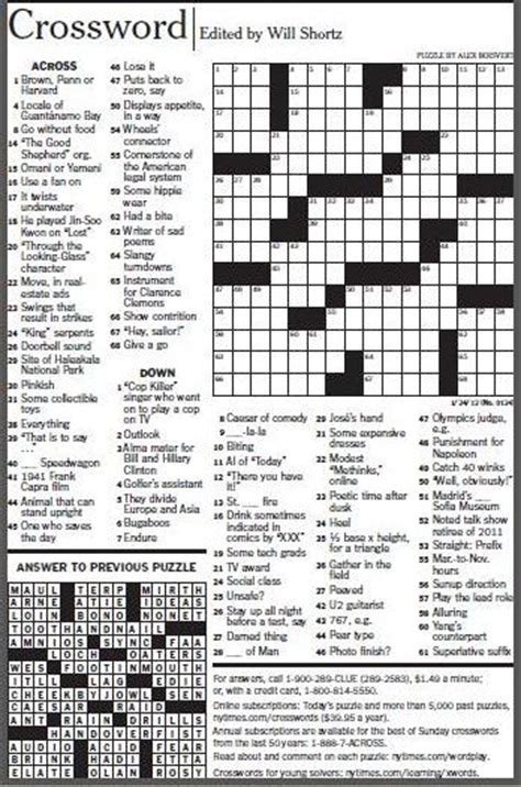 easy crossword puzzles new york times the new york times crossword puzzle