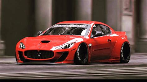 Liberty Walk Teases Maserati Granturismo On Steroids