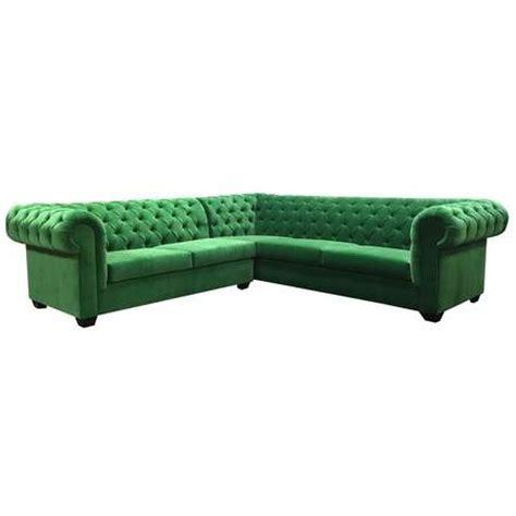 velvet l shaped sofa green quot l quot shape sectional velvet rentals